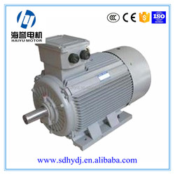 Y2 series AC electric fan motor with cast iron housing