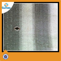Hdpe Car Parking Balcony Shade Net With UV Resistant , 120gsm-180gsm used fencing for sale