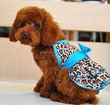 wholesale pet supply dog pet products leapard dress