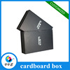 Luxury High Quality Rigid Black Drawer Gift Boxes Christmas Gift Box Packaging