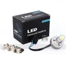 H4 H6 P15D-1 P15D-3 High Power Top Quality 2000LM COB LED Motorcycle Headlight Kit