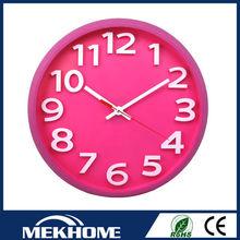 Transparente de acrílico del reloj de pared/chino reloj de pared