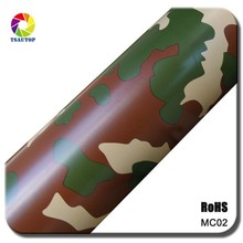 TSAUTOP 2015 RoHS Certification Air Bubbles Foil Car Wraps Vinyl Camoflage Film for Car Body