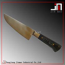 Micarta Handle Kitchen Meat Chopping Knife