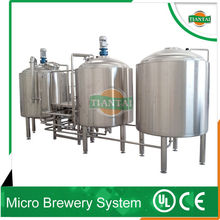 used micro beer brewery machine, brewing equipment in China