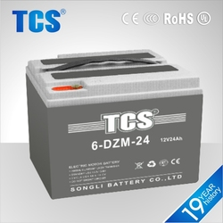 12V electric vehicle battery electric sealed maintenance free rechargeable Battery for Electric Trolling Motor
