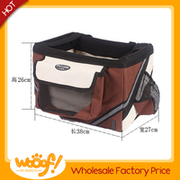 Hot selling pet dog products high quality dog carrying basket