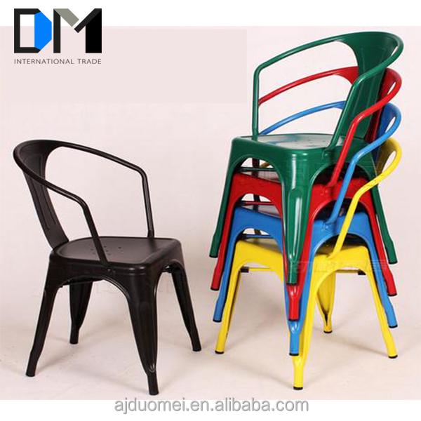 metal outdoor furniture retro metal chair modern stainless