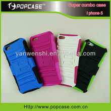 For Apple Iphone 5 Super Hybrid Combo Case