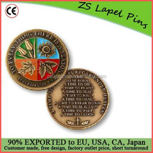 Personalized Design High Quality To Every Thing There Is a Season Coin