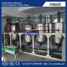 15T edible oil refinery /sunflower oil refinery / crude oil refinery for cooking meal