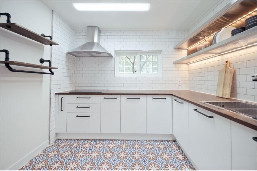 nhà bếp backsplash đen 75x150 gốm tường gạch