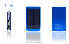 High Capacity Solar Charger and Battery 10000mAh Solar Panel dual charging ports portable power bank