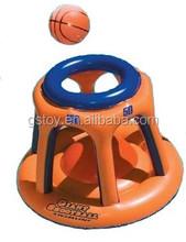 PVC inflatable float basketball goal set