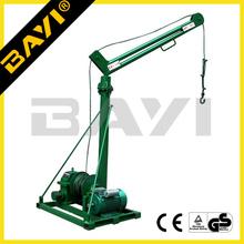 JG WG WD type construction crane,mini mobile crane for construction