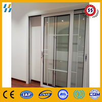 graceful and elegant aluminium sliding door for living room kitchen door office door