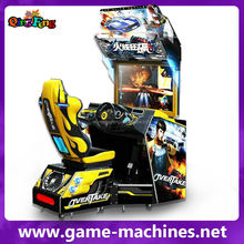 Market cool simulator car racing games 32 inch 4D hot pursuit