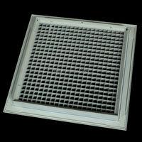 Aluminum Alloy Vent Ceiling Fixed Egg Crate Core Diffuser