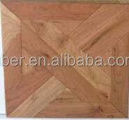 Wooden floor tiles, waterproof and best selling products/wood parquet flooring