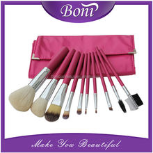 10pcs New Hot Cosmetic Brushes Tools With Soft Bag Makeup Brush Set In Package