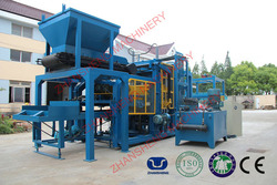 ZS-QT10-15 On Sale Model Full Automatic Concrete Brick Making Machine