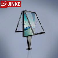Double Sided Scrolling Led Light Display Advertising Board