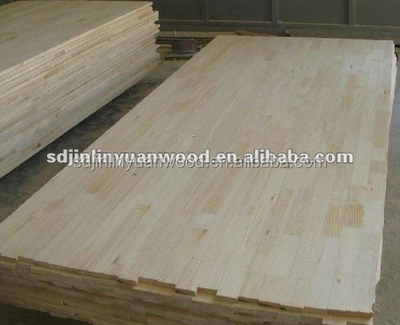 Paulownia wood finger jointed board