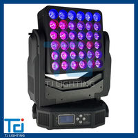 Magic panel 36x15W RGBW 4in1 Led pixel moving head, dot control moving light