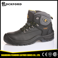 Factory genuine leather new model hard work shoes for men FD4111