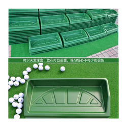 ODM vacuum forming thick plastic golf ball box shell, thermofrming plastic golf box cover