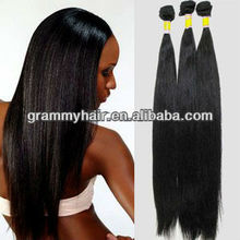 2012 hot sell high quality extension hair brazilian human hair extensions for black woman sew in hair extension