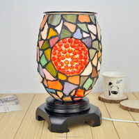 100% manufacture wholesale glass mosaic oil warmer, oil burner, aroma lamp150202