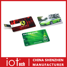 Custom Logo Credit Card Flash Drive USB