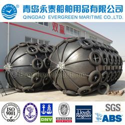 Evergreen net type ship fender/boat fender/Yokohama Floating pneumatic rubber fender