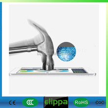 Ultra thin rounded edge 0.2mm color tempered glass screen protector for ipad mini