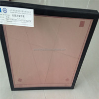 save enery curtain wall insulated glass