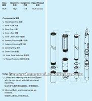 nq core barrels/drilling tool