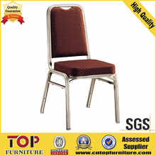 Stackable aluminum tube price steel banquet chair