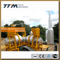 80t/h mobile asphalt plant, mobile asphalt plant for sale, portable concrete batch plant
