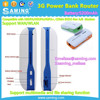 3G Power Bank wifi Router/5200mAh/5in1 Mini USB 150Mbps 3G WIFI Mobile Wireless WiFi repeater