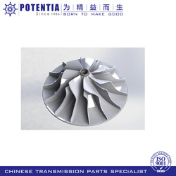 OEM available customized silicon sol lost wax casting stainless steel pump impeller
