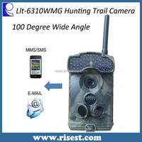 1080p GSM Camera Outdoor for Garden Surveillance with Night Vision with Audio with 100 Degree Wide View Angle Ltl 6310WMG
