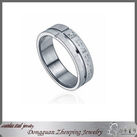 """LOVE ONLY YOU"" Factory Custom Make Mens Western Wedding Bands"