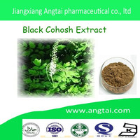 Hot sale high quality 100% natural black cohosh powder black cohosh extract