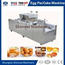 Automático huevo copa de pastel Muffin máquina formadora de rollos