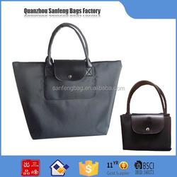 China wholesale custom folding shopping bag , foldable shopping bag