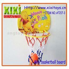 4Pcs Promotional Kids Cartoon Plastic Toy Mini Basket Ball Board