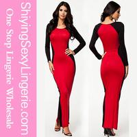 hot girl Elegant Party Maxi Evening Dress long chiffon party dress