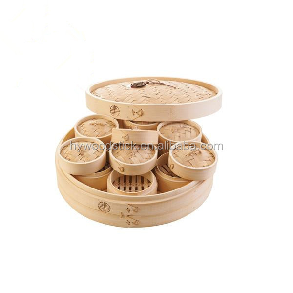 Wholesome Food Safety Bamboo New Types Of Steamer