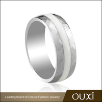 OUXI custom jewelry bulk sale stainless steel rings wholesale jewelry
